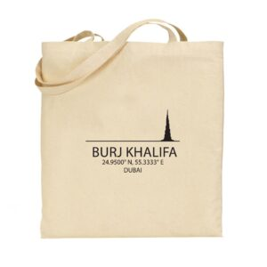 Tote bag Burj Khalifa - Dubai, UAE