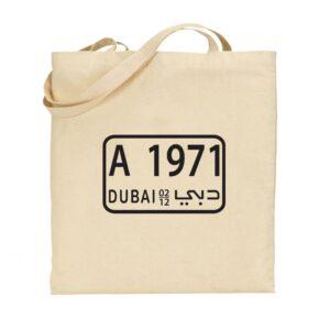 Tote bag Dubai 1971